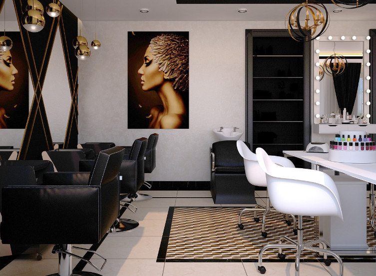 Salon coiffure institution