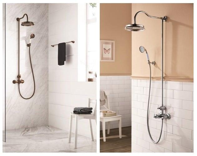 Installation colonne de douche